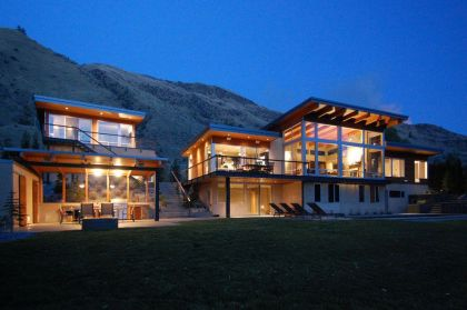 Central Washington River House McClellan Architects