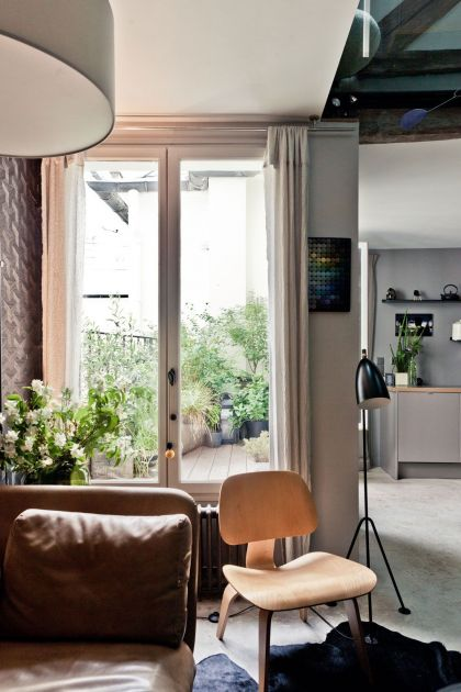 Apartment in Paris l'Atelier d'Archi