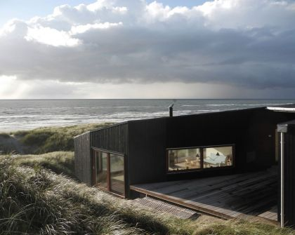 Vacation House in Henne Mette Lange Architects