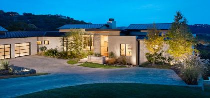 House on the Hill James D LaRue Architecture Design