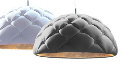 Clamp, an Upholstered Pendant Lamp DZ Studio