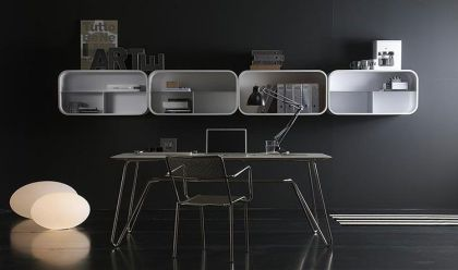 Cocoon shelving system Paola Navone