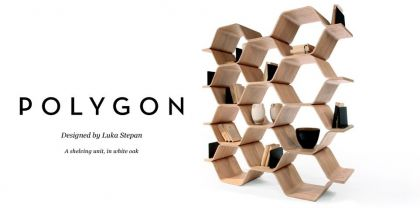 Polygon Shelving Unit Luka Stepan