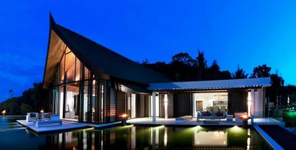 Absolute Beachfront Villa in Cape Yamu, Phuket, Thailand