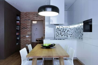 Studio Apartment Lugerin Architects