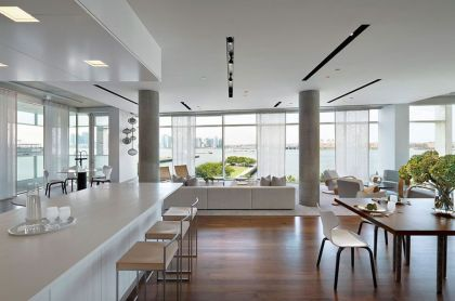 Downtown Manhattan Loft Renovation Shelton, Mindel & Associates