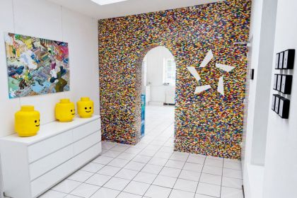 LEGO Wall project