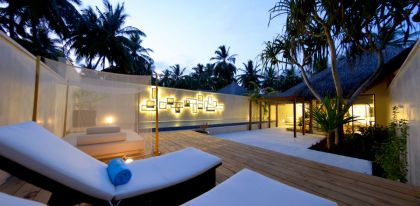 Kuramathi Island Resort in Rasdhoo Atoll, Maldives