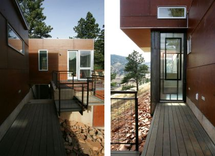 Box House in Boulder, Colorado Studio H:T