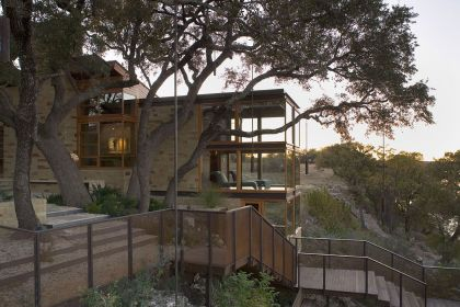 Lake Travis Retreat Dick Clark Architecture