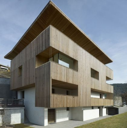 PF Single Family House Burnazzi Feltrin Architects