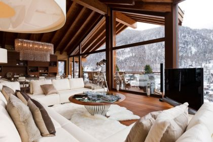 Six Star Luxury Boutique Chalet Zermatt Peak in Switzerland