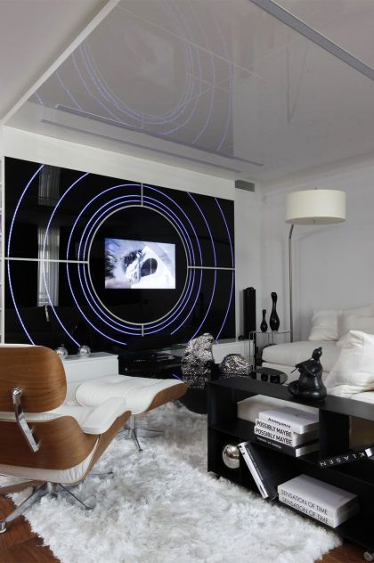 Fantasy Island Apartment in Moscow Gemotrix Design