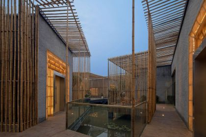 Bamboo Courtyard House Harmony World Consulting & Design
