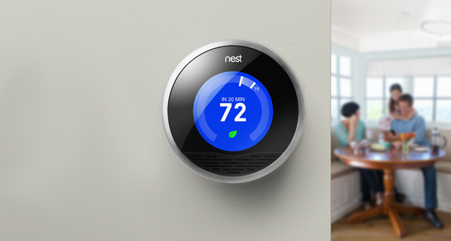 The Nest Learning Thermostat Nest
