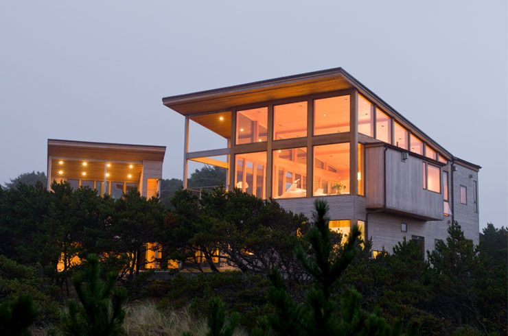 Oregon Coast Beach House Boora Architects
