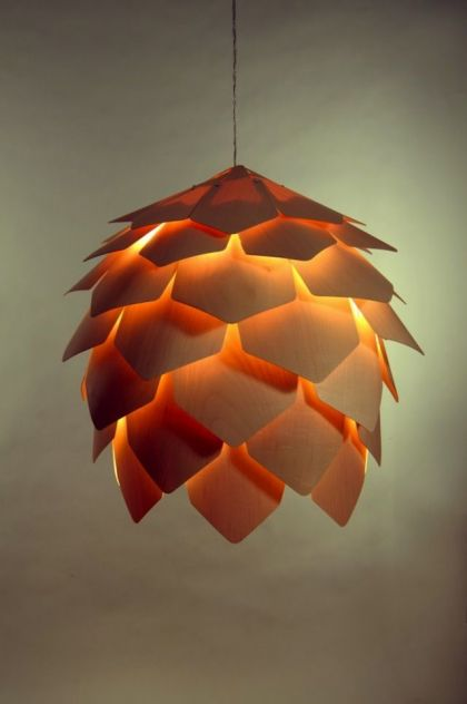 Crimean Pinecone Lamp #furniture #light