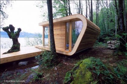 Hardanger Retreat #architecture #minihouse