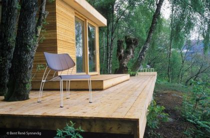 Hardanger Retreat #architecture #minihouse #terrace