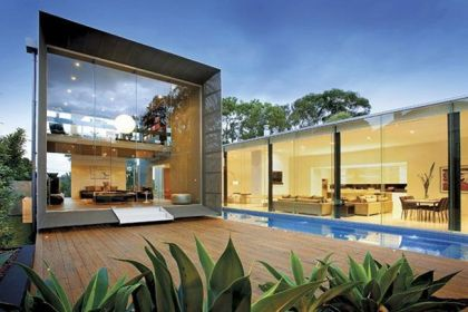 The Orb House in Melbourne #architecture #modern #pool #terrace