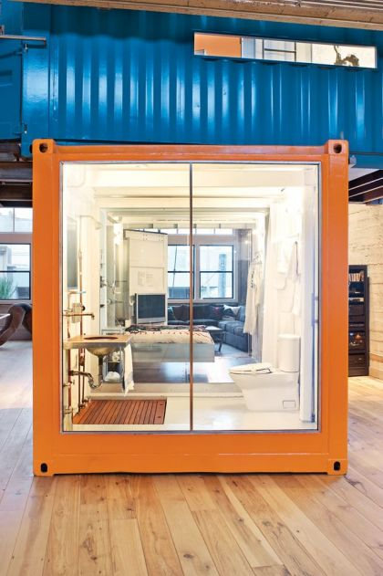 Container House Jeff Wardell, Claudia Sagan