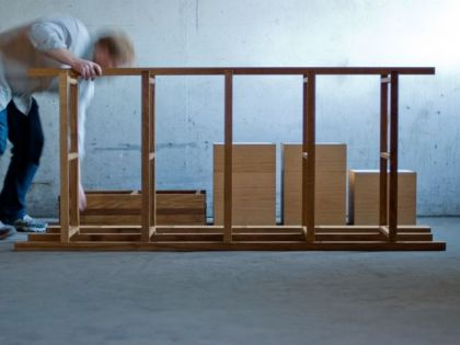 Knock Down - Book Case Jakob Jorgensen