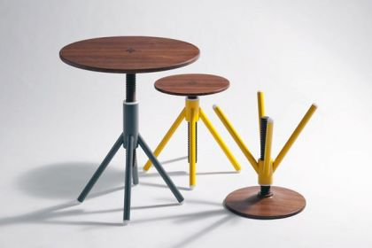 Thread Family Table and Stool Series