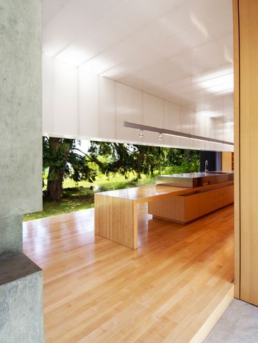 Linear House Patkau Architects
