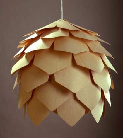 Crimean Pinecone Lamp