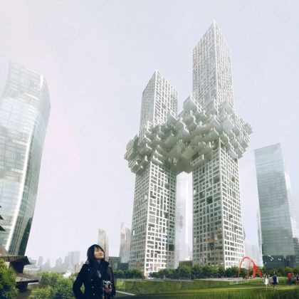 The Cloud Building #architecture #skyscraper