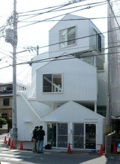 Stacked Houses #architecture #container