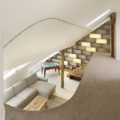 Rounded Loft A1 Architects