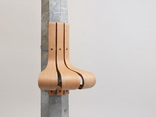 Wanderest ergonomic chari can be attached to a pole Nichola Trudgen