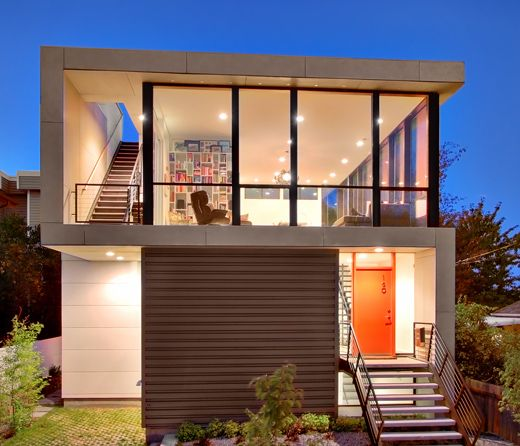 Modern House Design On Small Site Witin A Tight Budget Pb Elemental Design