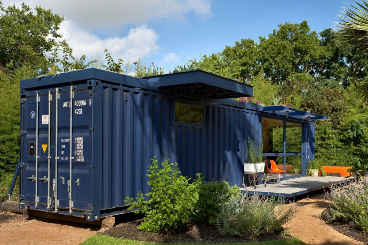 Container Guest House Jim Poteet