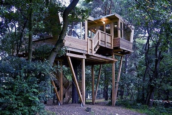 Scout treehouse Baumraum