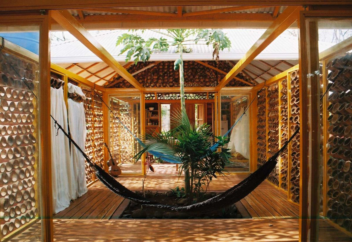 A forest for a Moon dazzler Bamboo House Benjamin Garcia Saxe