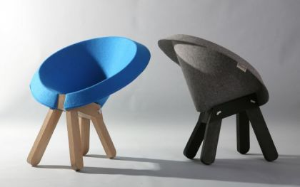 Zaza chair Design Omri Barzeev