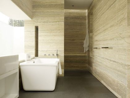 Faber Park, a Modern Architectural Residence in Singapore #interiors #modern #bathroom