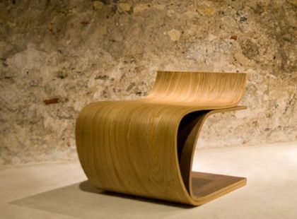 Chair wood Ilio