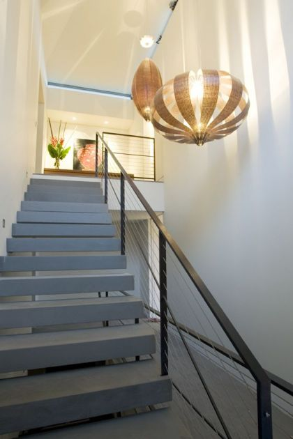 Warringah Road House #interiors #stairs #light