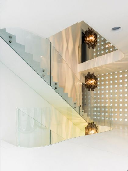 The O House #interiors #stairs #light
