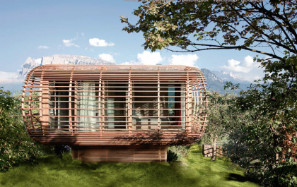 Sustainable Architecturel Fincube #architecture #modern #minihouse #garden