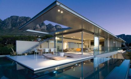 Stunning Vacation House in South Africa #architecture #pool #terrace