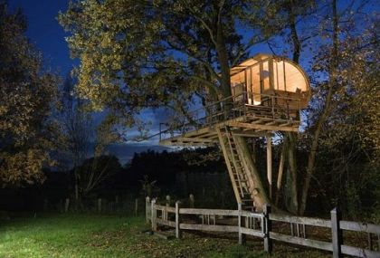 Mini Treehouse design Baumraum