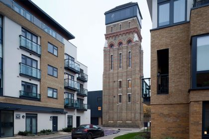 Stunning Water Tower Conversion in London The water Tower
