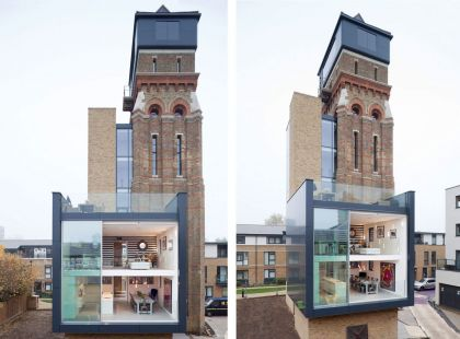 Stunning Water Tower Conversion in London